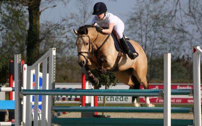 Zeer geslaagde ponywedstrijd op 9 april