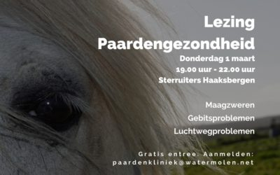 Lezing Paardengezondheid