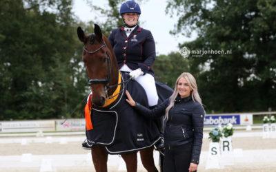 Mandy Damoiseaux wint Kür-finale bij de Zilveren Ster Paarden 2021